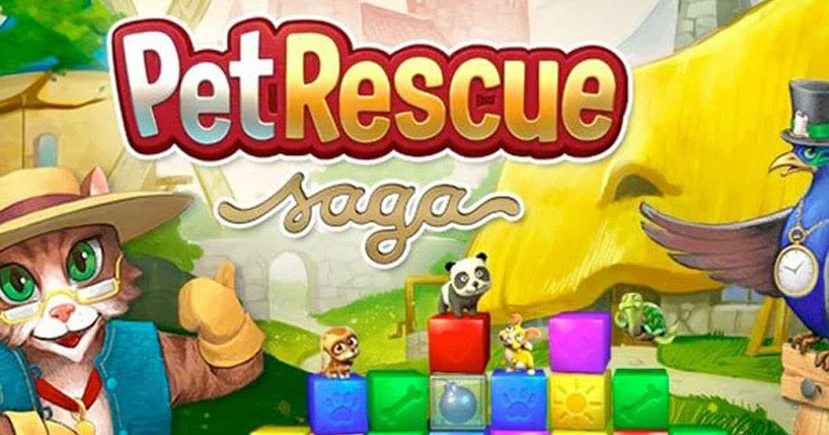 pet rescue saga gratuit telecharger pc