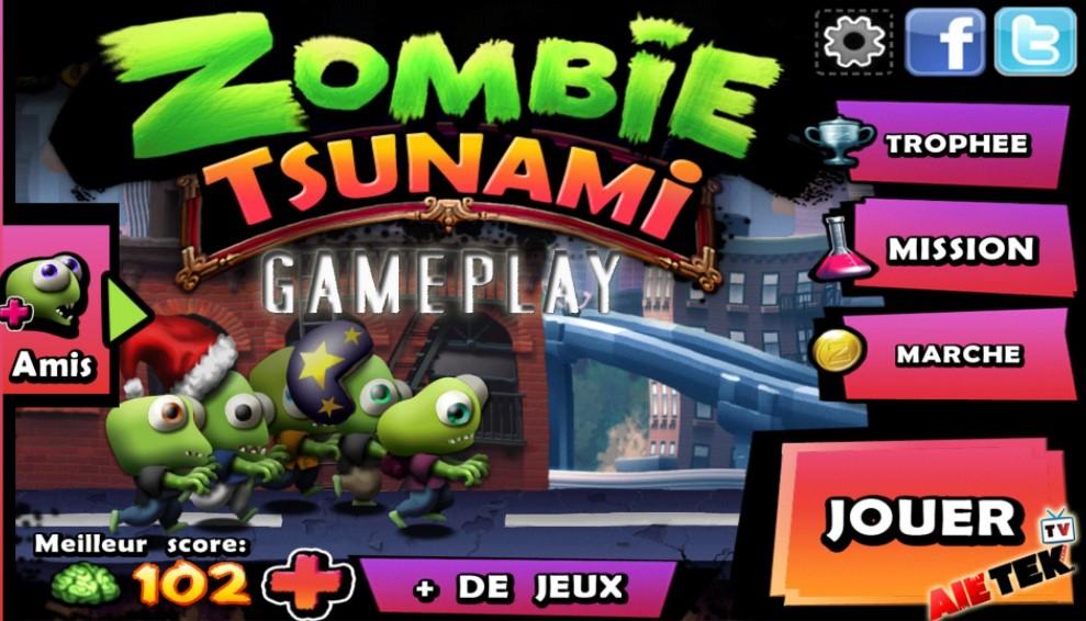 Telecharger Zombie Tsunami PC